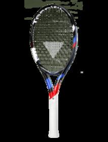 Dětská tenisová raketa TECNIFIBRE 2018 T-Flash 26 (66 cm) red/blue/white/black