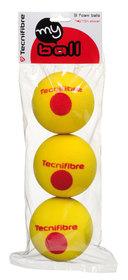 Dětské tenisové míče TECNIFIBRE My Ball á3 bez loga