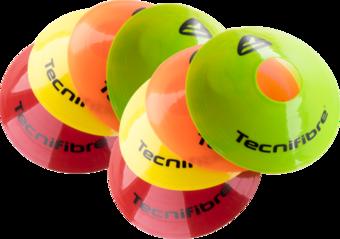 Pedagogické pomůcky TECNIFIBRE Značkovací homole 8 ks