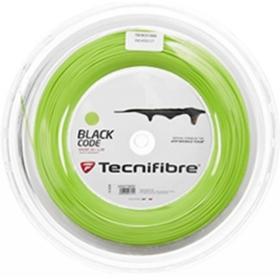 Tenisový výplet TECNIFIBRE Black Code (1,28 mm) lime - ROLE 200m