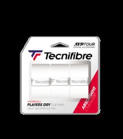 Vrchní omotávka TECNIFIBRE  Players Dry á3 bílá